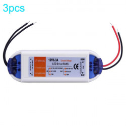 3X 12V 50W LED Driver Power Driver AC 90-240V