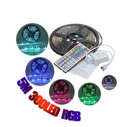 3X 5M RGB 3528 LED Streifen Lichter Wasserdicht 12V 300led Streifen