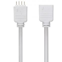 4-Pins 5M Extension Kabel Wire Stik Til 5050/3528 RGB LED Bånd Lysbånd