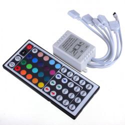 44 Key IR Fjärrkontroll för RGB LED 3528 5050 SMD Slinga Ljus 12V