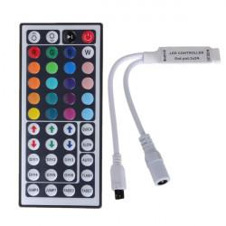 44 Key Mini IR Fjärrkontroll Kontroll för 3528 5050 RGB LED Slinga Ljus