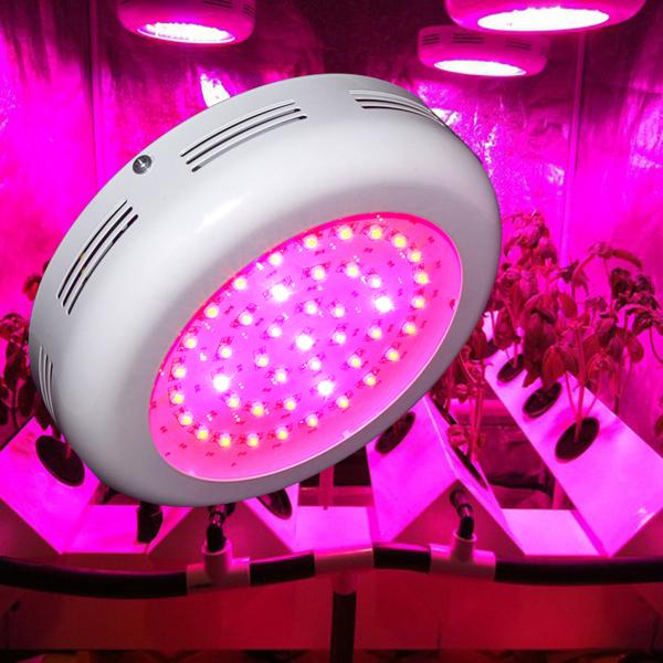 45 * 3W Blå / Rød UFO Sparepære LED Vækstlampe AC 85-265V LED Belysning