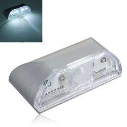 4 LED IR-sensor Ljus Auto Pir Keyhole Rörelseigenkänning