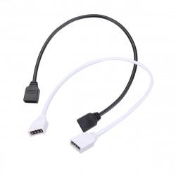 4 Pin Fleksibel LED Connector Kabel Splitter for RGB LED Bånd