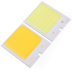 4W 48led COB LED Chip 480mA Hvid / Varm Hvid Til DIY DC 12V