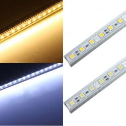 50CM 36 LED 5050 SMD harter Streifen Licht Shell Endmontage 12V