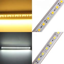 50cm 5050 9W 12V 36 SMD U-form Varmvit / Vit LED Lysrör Ljus