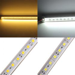 50CM 5050 9W 12V 36 SMD V Form warmes weißes / weißes LED steife Streifen Licht