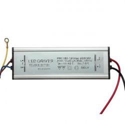 50W 50-60Hz High Power LED Driver Vattentät IP65 AC85V-265V