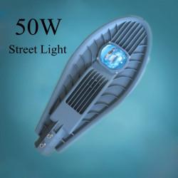 50W LED IP65 Single Chip Gatubelysning Utomhus Väglampa AC85-265V