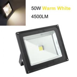 50W Warm White 4500LM Waterproof High Power LED Flood Light 110-220V