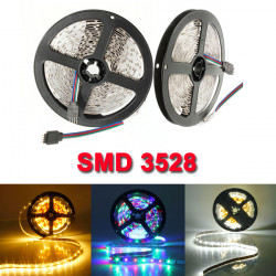 5M 300 LED SMD 3528 Flexibel LED Slinga Light icke-Vattentät DC 12V