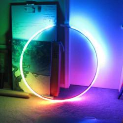 5M 5050 RGB 6803 IC Einzel LED Streifen Licht wasserdichtes IP67 12V DC