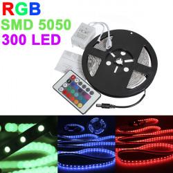 5M 5050 SMD RGB Nicht Wasserdichte 300 LED Streifen 12V DC