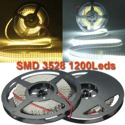 5M Double Row Ikke Vandtæt SMD 3528 1200Leds LED Bånd Lysbånd