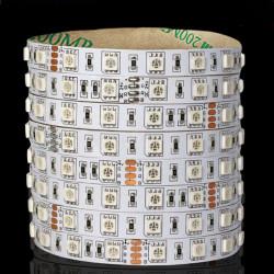 5M SMD 5050 300LEDs RGB LED Lystofrør Ikke-Vandtæt 24V