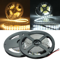5M Hvid / Varm Hvid 5630 SMD Ikke Vandtæt 300 Lysdioder LED Bånd 12V