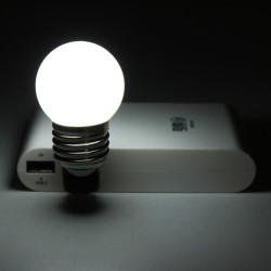 5V Mini USB LED Energiesparlampe Nachtlicht Computer PC Spotlight