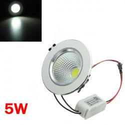 5W COB LED Deckenleuchte Licht Silber Shell Riementrieb 85 265V