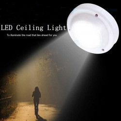 5W LED Ceiling Light Round Energy-saving Lamp For Bedroom Corridor