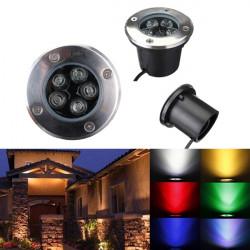 5W LED Vattentät Utomhus In Ground Trädgård Path Fasadbelysning Landskap Ljus