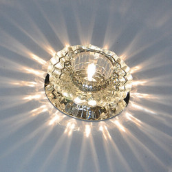 5W Modern High Power Crystal LED Ceiling Lamp Flush Mounted Foyer Fixture Light