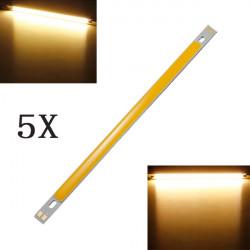 5X 10W COB LED Lampe Pære 1000LM Varm Hvid for DIY 12V