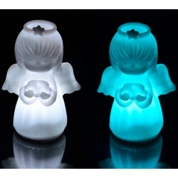 7 Color Changing LED Cute Angel Night Light Decoration Lamp