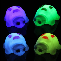 7 Color Changing LED Cute Turtle Night Light Christmas Decoration Gift