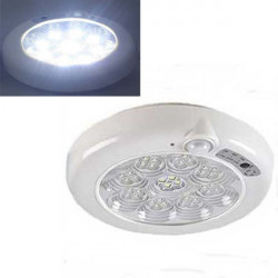 7W/11W LED Sound Induction Ceiling Lamp Corridor Fire Emergency Light
