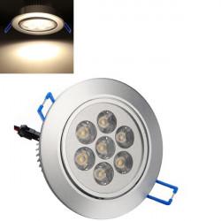 7W 700LM Warm White LED Ceiling Light Lamp Bulb 85-265V