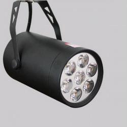 7W LED Spår Lätt Spotlight Wall Kitchen Hotel Utställnings Fixtur