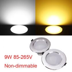 9W Cree LED Downlight Tak Infälld Lampa 85-265V + Driver
