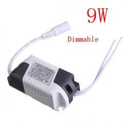 9W LED Dimmbare Fahrer Transformator Netzteil für Birnen AC85 265V