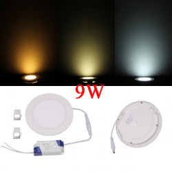 9W Round Dimmable Ultrathin Ceiling Energy-Saving LED Panel Light