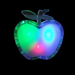 Apfel förmige bunten LED Nachtlicht Energiesparende Wandleuchten