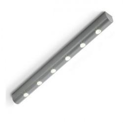Auraglow Trådløs Vibration Sensor 6 LED Batteridrevne Natte Lampe