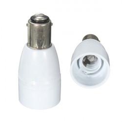 B15 Til E14 Screw Lampe Lys Sokkel Pære Konverter Adapter Holder
