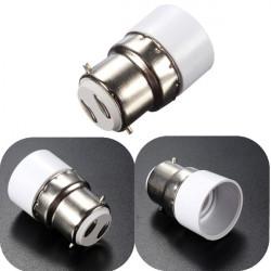 B22 E14 Schraube LED Lampe Lampenfassung Adapter Sockel Converter 250V