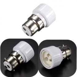 B22 to GU10 Light Lamp Bulbs Adapter Converter