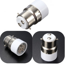 B22 to MR16 Base Screw LED Light Lamp Bulb Holder Adapter Socket Converter