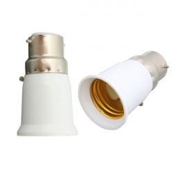 BC B22 To ES E27 Screw Light Bulb Adapter Lamp Converter Holder