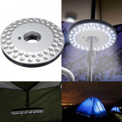 Bright 48 LED Udendørs Umbrella Vandring Yard Lamp Camping Natte Lampe