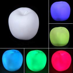 Färg Skiftande Apple LED Nattlampa Julfest Dekoration Lampa