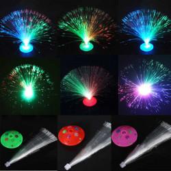 Farbwechsel LED blinkt Lichtwellenleiter Nachtlicht für Partei