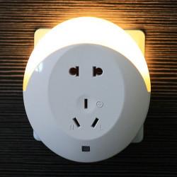 Creative Multi Funktions Licht Sensor LED Nachtlicht mit Steckdosen