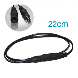 DC Male/Female Power Connector For Single Color Flexible Strip Lights