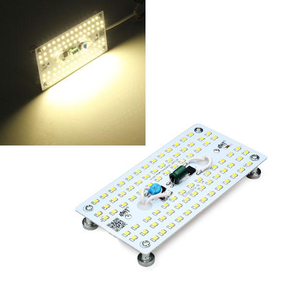 DIY 9W 84 SMD 2835 Warm White LED Ceiling Panel Light Lamp Board 220V LED Strip