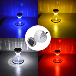 Decorative Solar Powered Color Changing LED Lawn Light For Garden Park