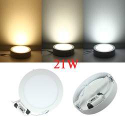 Dimmable 21W LED Surface Panel Wall Ceiling Down Light Lamp 85-265V